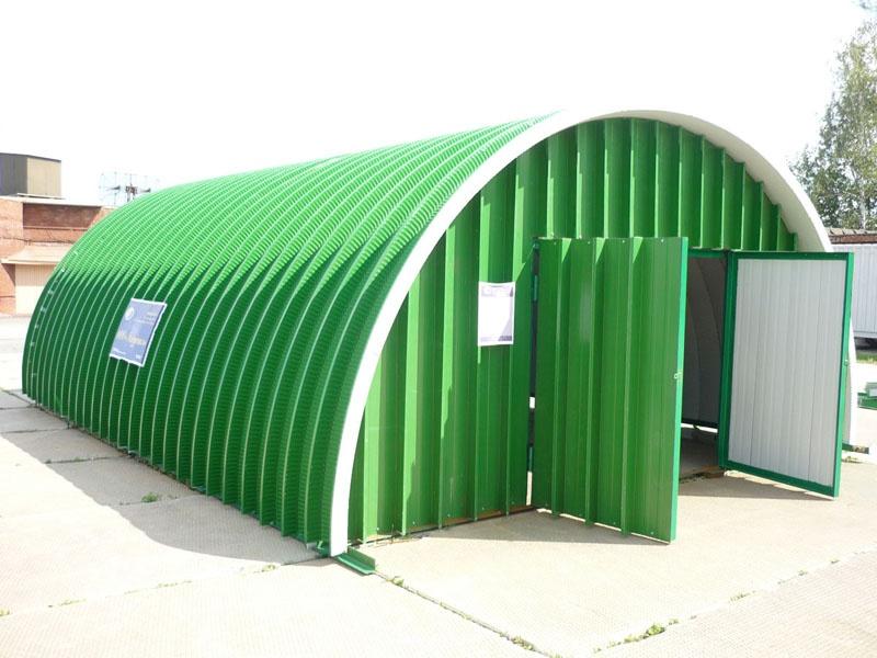 Gradite hangar sami