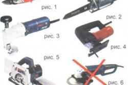 Инструменты для резки профнастила