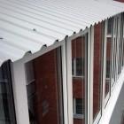Зависимая крыша из профнастила
