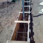 Строительство ленточного Фундамент под забор