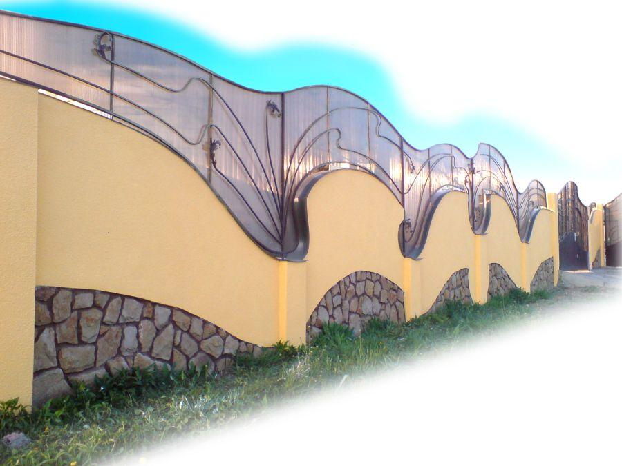 ограда для клумб своими руками фото