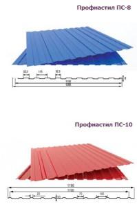 ПС-8 и ПС-10 - отличный материал для отделки цоколя