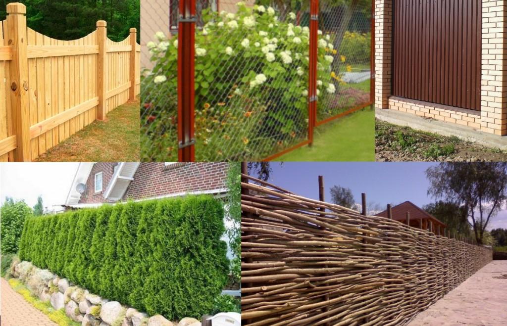 Какой лучше построить забор на даче