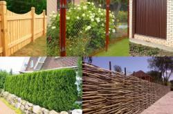 Виды заборов: деревянный, из сетки-рабицы, из профнастила, живая изгородь, плетеный