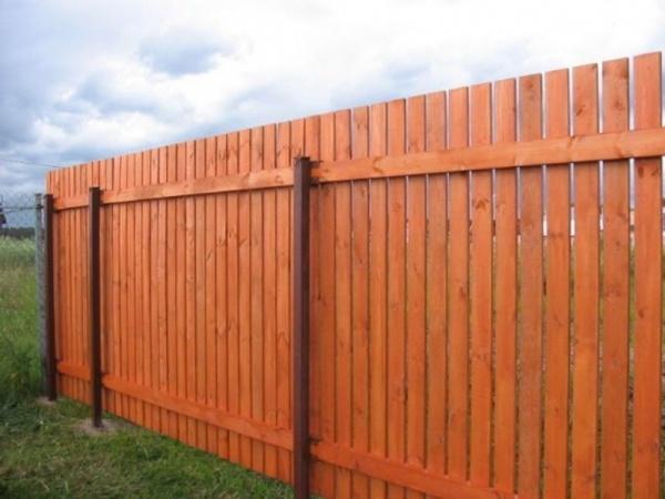 Забор своими руками на дачном участке
