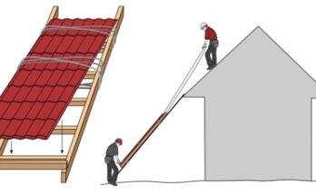 Как правильно положить профнастил на крышу